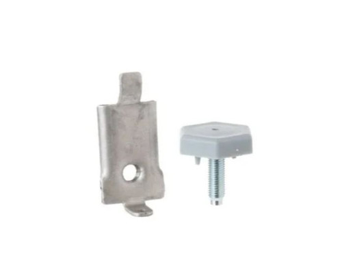 GE Replacement Leveling Leg and Bracket For Dryers Part# WE1M468 - NEW