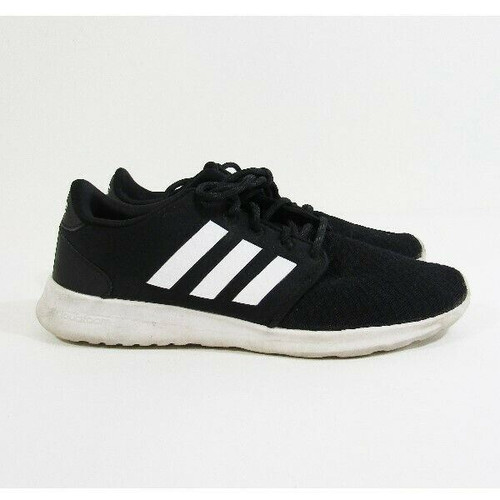 Adidas Cloudfoam Black & White Women's Running Shoes Size 7.5