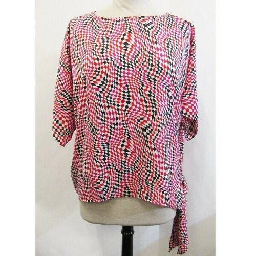 Michael Kors Multicolor Checkered Women's Blouse Size M