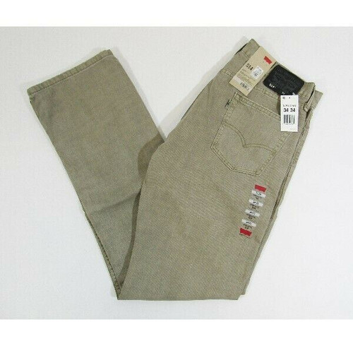 Levi Strauss & Co. 514 Olive Straight Fit Men's Jeans NWT Size 34