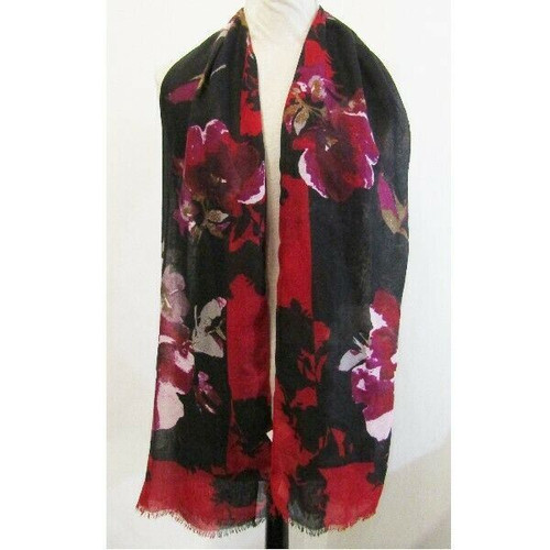 J Jill Multicolor Floral Women's Scarf New with Tags One Size