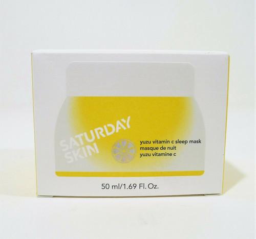 Saturday Skin Yuzu Vitamin C Sleep Mask 1.69 Fl Oz - NEW