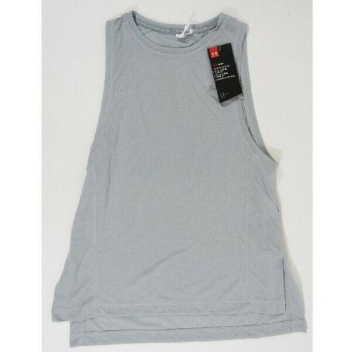 Under Armour Gray Sleeveless Women's Workout Tank Top NWT Size XS