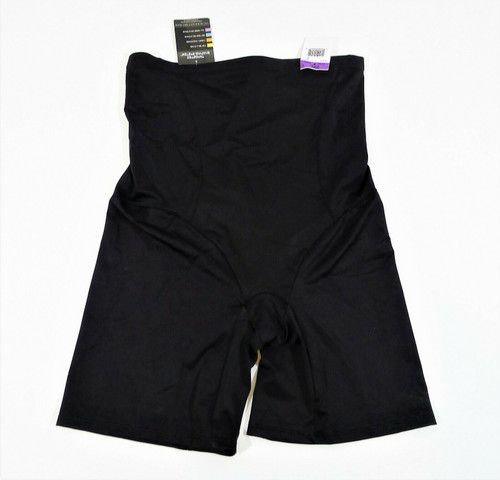 Bali Black Cool Comfort Hi-Waist Thigh Slimmer 8097 Size 2XL - NEW WITH TAGS
