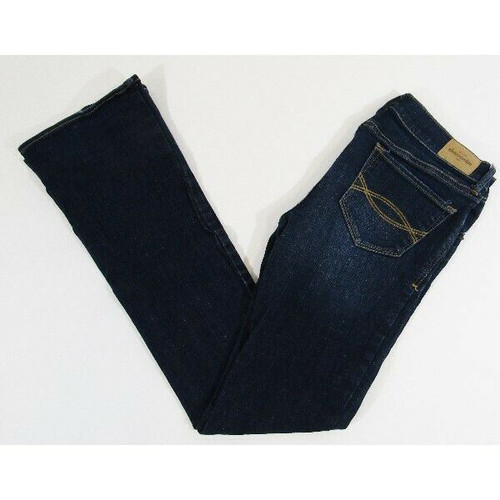 Abercrombie & Fitch Kids Dark Wash Bootcut Girls Jeans Size 16
