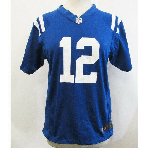 NFL Andrew Luck #12 Indianapolis Colts Game Jersey Size L
