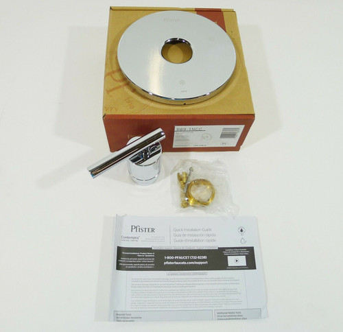 Pfister Contempra 1-Handle Tub & Shower Valve Trim Only IN Chrome - OPEN BOX
