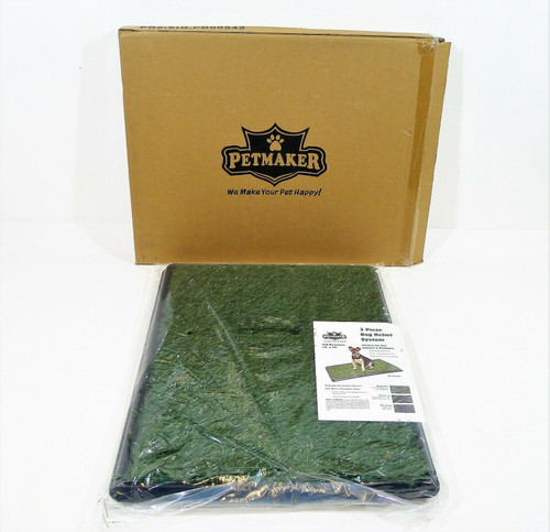 """Petmaker 3 Piece Dog Relief System Small 16"""" x 20"""" x 1.25"""" - NEW"""