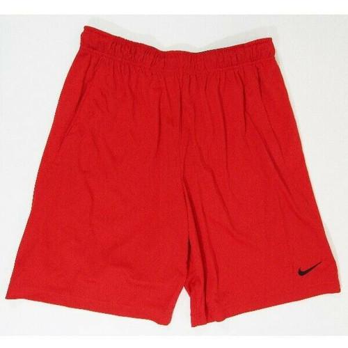 Nike Dri-Fit Red Standard Fit Men's Training Shorts NWT Size L