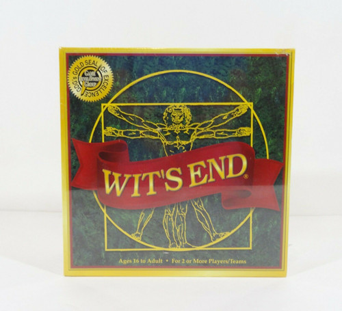 Wit's End Board Game - 2018 Edition - Ages 16 to Adult   NEW SEALED