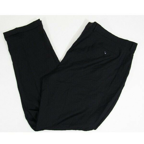 Jack Victor Black Reflex Stretch Men's Dress Pants NWT Size 50 Long