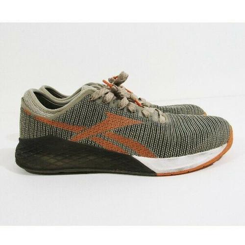Reebok Crossfit Nano Orange & Olive Men's Training Shoes Size 11.5