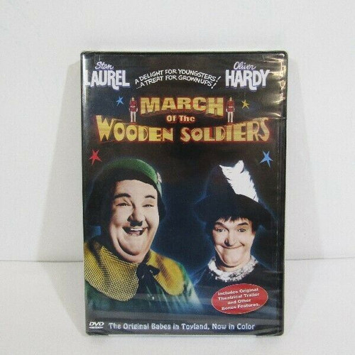 March of the Wooden Soldiers with Special Features New in Package **IN COLOR**