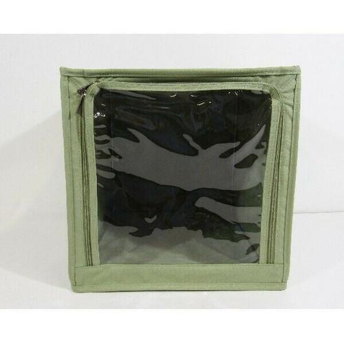 Milano Green Cloth Foldable Storage Box 13x13x13