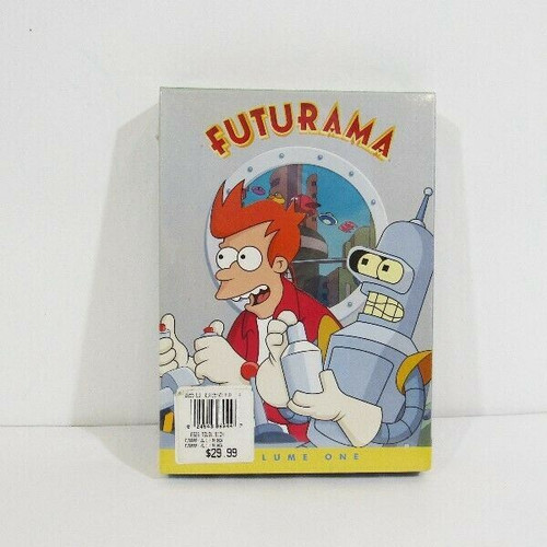 Futurama Volume One with Bonus Features New in Package 3 Disc Set