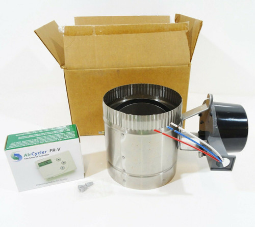 AirCycler FR-V Controller and Motorized Damper -  *Fan Switch Not Included