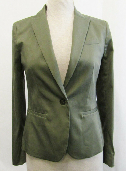 Banana Republic Green Long Sleeve Women's Blazer NWT Size 2