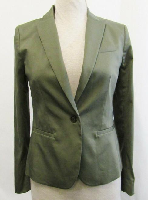 Banana Republic Green Long Sleeve Women's Blazer NWT Size 2