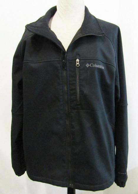 Columbia Interchange Black Men's Winter Jacket Size XL*Has Stain