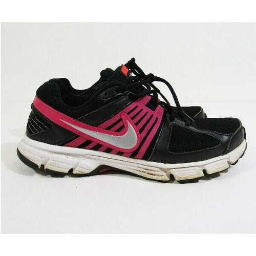 Nike Downshifter 5 Black & Pink Women's Running Shoes Size 8.5
