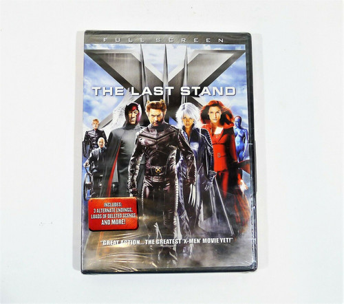 X-Men III The Last Stand Full Screen DVD - New Sealed
