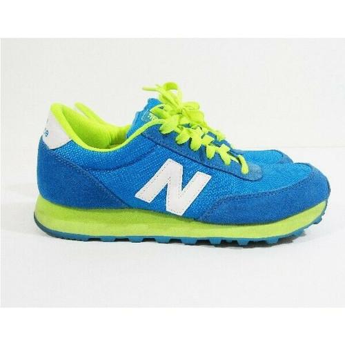 New Balance 501 Blue & Green Women's Sneakers Size 8.5