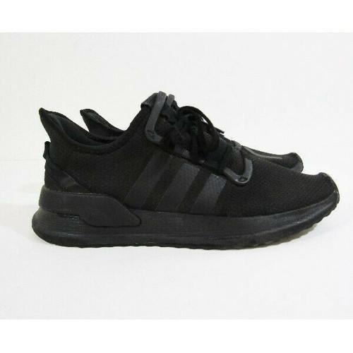 Adidas U Path Run Black Men's Running Shoes Size 9.5