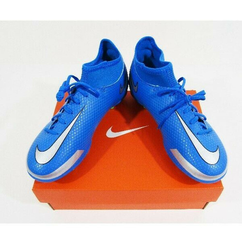 Nike Jr Phantom GT Club Blue & Green Youth Soccer Cleats NIB Size 3 Youth