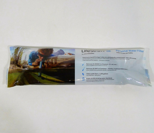 Lifestraw Personal Water Filter - NEW SEALED