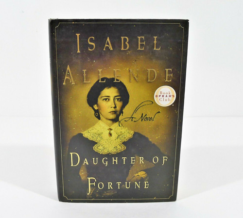 Isabel Allende Daughter Of Fortune Hardcover Book First Edition