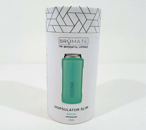 BrüMate Aqua Hopsulator Slim Stainless Steel Insulated Can Cooler - NEW