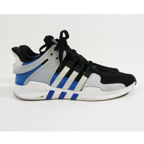 Adidas Equipment ADV/91-16 Black, Gray & Blue Men's Running Shoes Size 11.5