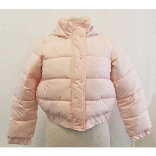 Missguided Pink Hooded Women's Puffer Jacket NWT Size 4 Petite