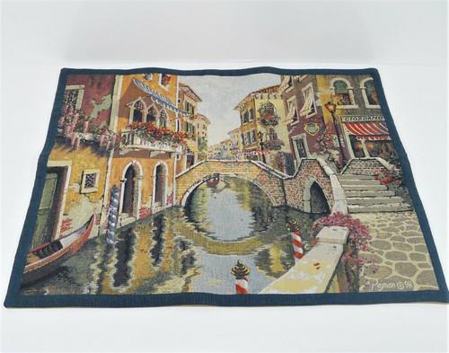 Flanders Flemish Venice Bob Pejman Italy Belgian Wall Tapestry 66 cm x 87 cm