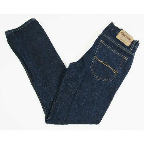 Aeropostale Essex Straight Leg Dark Wash Women's Jeans Size 30x34