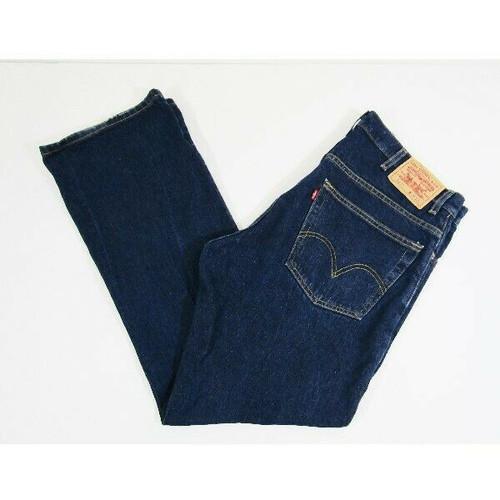 Levi Strauss & Co. 517 Bootcut Dark Wash Men's Jeans Size W38 x L32