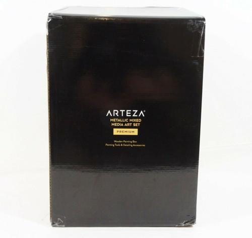 Arteza Metallic Mixed Media Art Set Premium   NEW