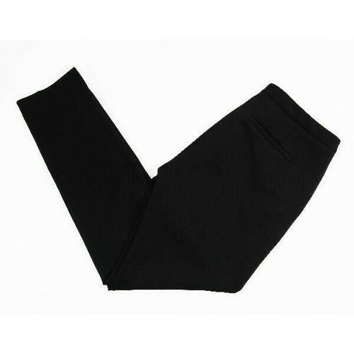 Calvin Klein Black Slim Fit Skinny Ankle Women's Slacks w/ Pockets Size 10