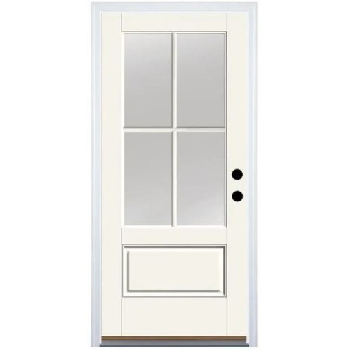 3/4 Lite 4-Way Divided Window Door