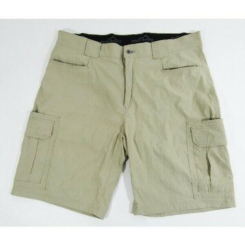 Eddie Bauer Lightweight Khaki Men's Tahoma Cargo Shorts Size 40