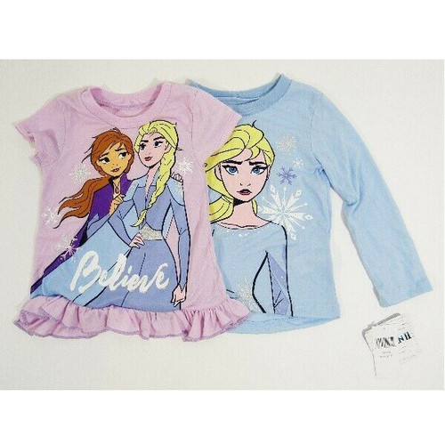 Disney's Frozen II Girls Shirts Set of 2 Size 3T