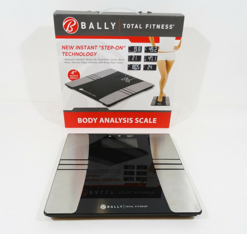 Bally Total Fitness Body Analysis Scale BLS-7320-B