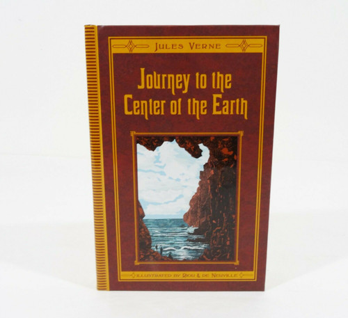 Journey To The Center Of The Earth Hardcover Book 2009 Jules Verne