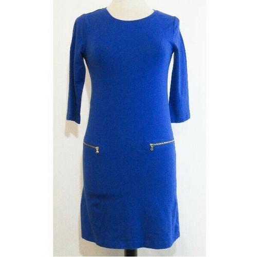 Old Navy Cobalt Blue Half Sleeve Women's Midi Dress Size XL