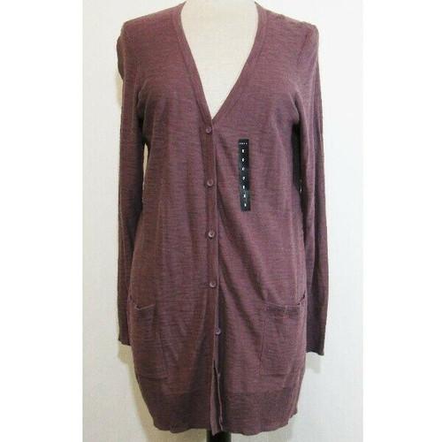 Torrid Purple Long Sleeve Women's Cardigan w/ Pockets NWT Size 0/Large