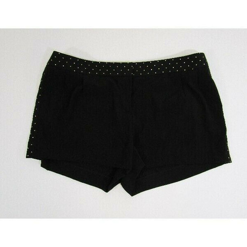Express Black w/ Gold Accents Women's Shorts NWT Size 8