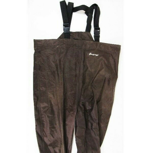 Frogg Toggs Brown Men's Rana II PVC Cleated Bootfoot Chest Wader Size 10
