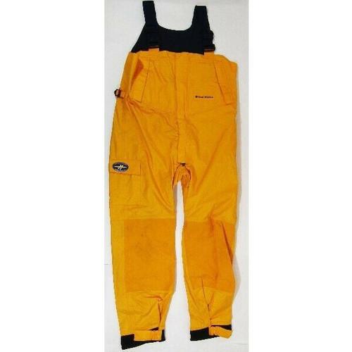 West Marine Explorer Yellow Unisex Fishing Bib Size XL