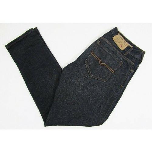 Vintage Genes Dark Wash Tapered Men's Jeans Size 32 x 32