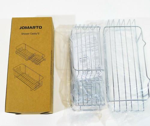 Jomarto 2-pack Stainless Steel Shower Caddy Basket Shelf - OPEN BOX
